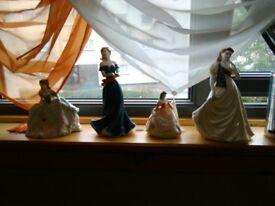 Coalport dolls