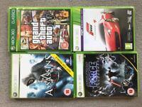 4 Xbox 360 games
