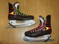 SBK DK6 Ice Hockey Skates with Guards - Size EUR 45 / UK 10.5 - Excellent Condition - Only Worn Once