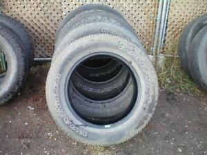 6 Goodyear Wrangler SR-A Tires * P275 60R20 114S * $120.00 for 6 .  M+S / All Season Tires ( used tires )