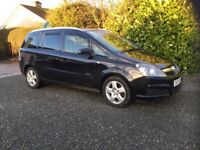 Vauxhall zafira 7 seater 1.6 mot Nov 2018 great condition cookstown