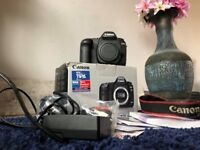 Canon 5D MKII Full Frame Digital Camera Boxed Working