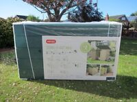 Keter Store It Out Max Plastic Outdoor Garden Storage Shed - Beige & Green - Brand New Boxed - £85