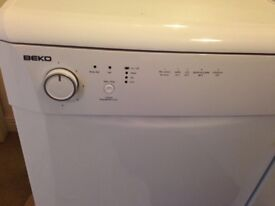 Beko dishwasher 3 years old. Replaced by new kitchen.