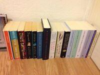 18 books for sale