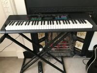 CASIO Electric Keyboard +stand +pedal