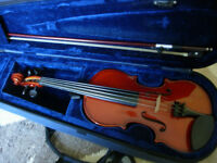 child's size (12'' back) viola -as new condition, Primavera at 1/2 new price(RRP £140+)