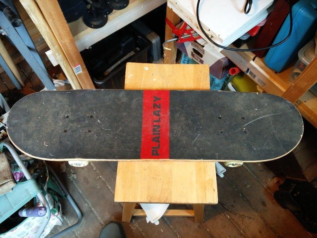 Branded skateboard