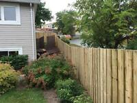 Working Dog Contracting ( fences, decks, landscaping)