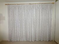 Scion Shibori Fabric Curtains by John Lewis Pebble W170cm X L230cm (each panel, 2 pairs available)