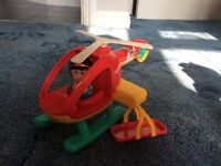 Happyland helicopter