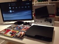 PlayStation 3 - PS3 with 7 games
