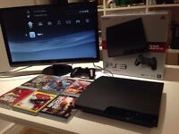 PlayStation 3 - PS3 with 6 games