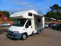Fiat Ducato 2.0D Lunar champ Motorhome Only 15000 miles