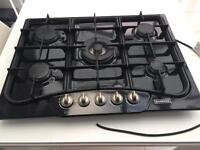 Cusina black 5 Burner Gas Hob