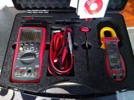 NEW multimeter clampmeter kit