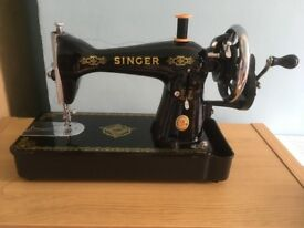 TRADITIONAL SINGER 15 SEWING MACHINE