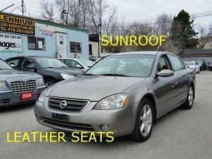 2003 Nissan Altima LETHER/SUNROOF