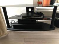 TV Stand, DVD Player and soundbar for sale