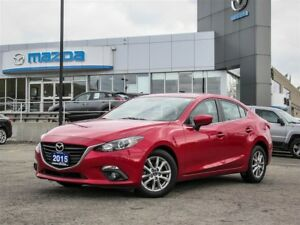 2015 Mazda MAZDA3 GS, Keyless Entry, Bluetooth, Moonroof, NAV.,