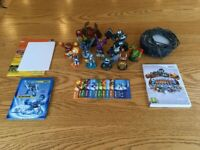 Skylanders Giants Game (for Wii) and Figures