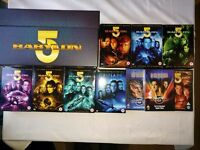 Babylon 5 - Full 41 disc collection - 6 series and 6 movies - great condition