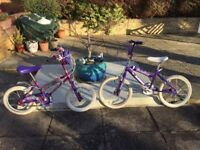 Two Lovely Magna Girls' Bikes