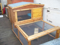 "rabbit hutch robust 48"" wide from £35.00 worth viewing 7days"