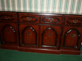 Mahogany Sideboard suitable for Dining or Living Room.