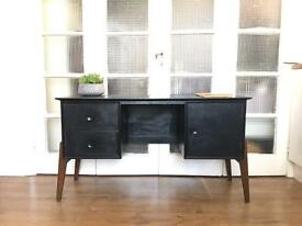 VINTAGE MIDCENTURY DESK/SIDEBOARD FREE DELIVERY LDN🇬🇧CHEST/dressing table