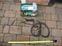 Vintage D 3 Sievert Gas Blow Torch with spares nozzles etc.