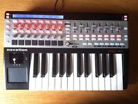 Novation 25SL MkII - Midi Keyboard and Controller