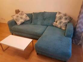 Sofa in ok condition 100 pound free delivery