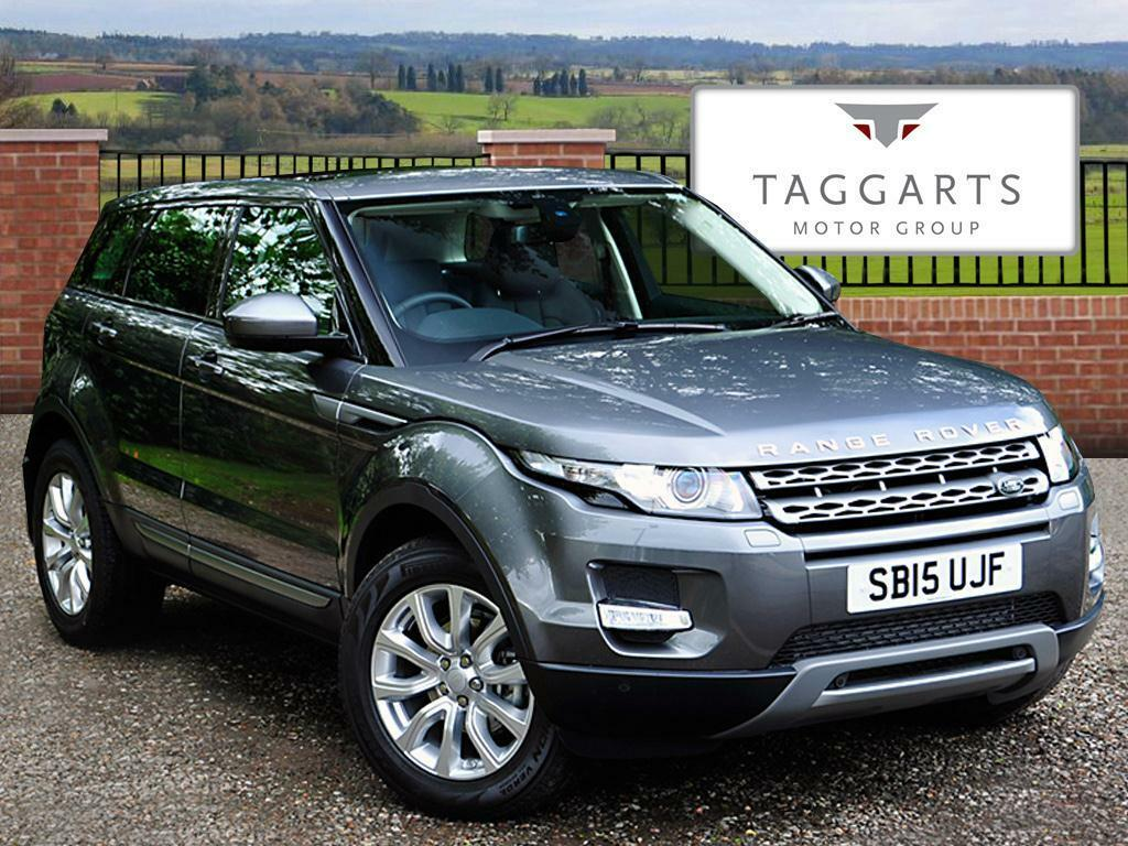 land rover range rover evoque 2 2 sd4 pure 5dr auto 9 tech pack 2015 in southside glasgow. Black Bedroom Furniture Sets. Home Design Ideas