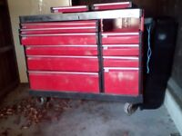 Snap on roll cabinet 2000 tool box.