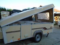 FOLDING CARAVAN ESTEREL 3 BERTH LE RAPIDE