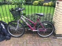 Raleigh Minx Ladies Bike + bike chain