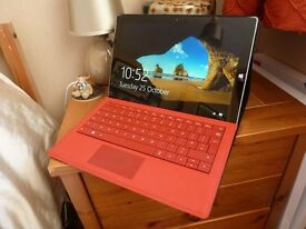 Microsoft Surface Pro 3 i5 128gb 12 Inch Screen.