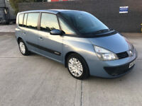 Renault Espace 7 seater AUTOMATIC diesel - Low miles only 94,000 - Fully Loaded with LONG MOT - Px