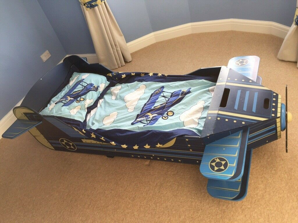 KidKraft Airplane Toddler Bed (Aeroplane) | in Chester ...