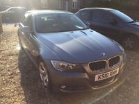 BMW 3 SERIES 2.0 320D EFFICIENTDYNAMICS 4DR - FULL LEATHER, ONLY £20 ROAD TAX, 69 MPG, O.N.O