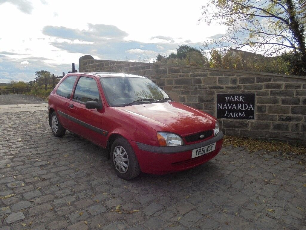 Ford Fiesta Fun In Red, 2001 51 reg, MOT October 2018