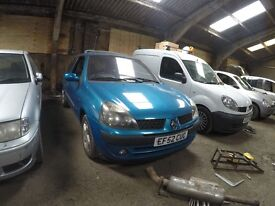 ALL PARTS FOR VERY CHEAP RENAULT CLIO