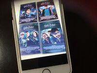 8 disc Harry Potter DVD set