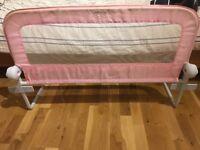 Summer infant pink bed rail/guard