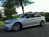 2009/09 BMW 318d M SPORT AUTO *IMMACULATE FULL MOT SERVICE HISTORY* 320d 330d audi
