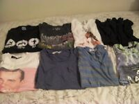 Fourteen Mens T-Shirts and Vests