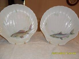 Porcelain Fish Plates