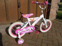 "Child bike - 14"" wheels"