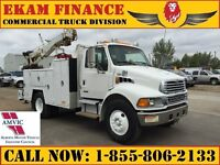 2004 Sterling Tow Truck -Service Truck, M-Benz 900BE, Allison Tr